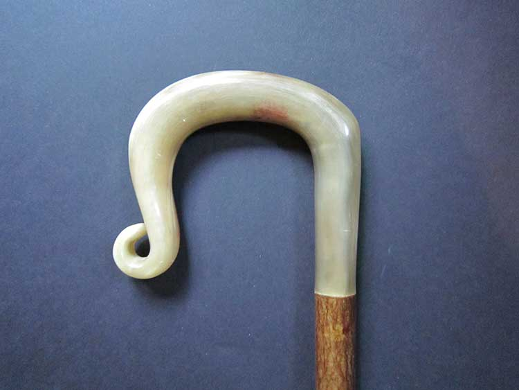 Welsh mountain rams horn shepherds crook
