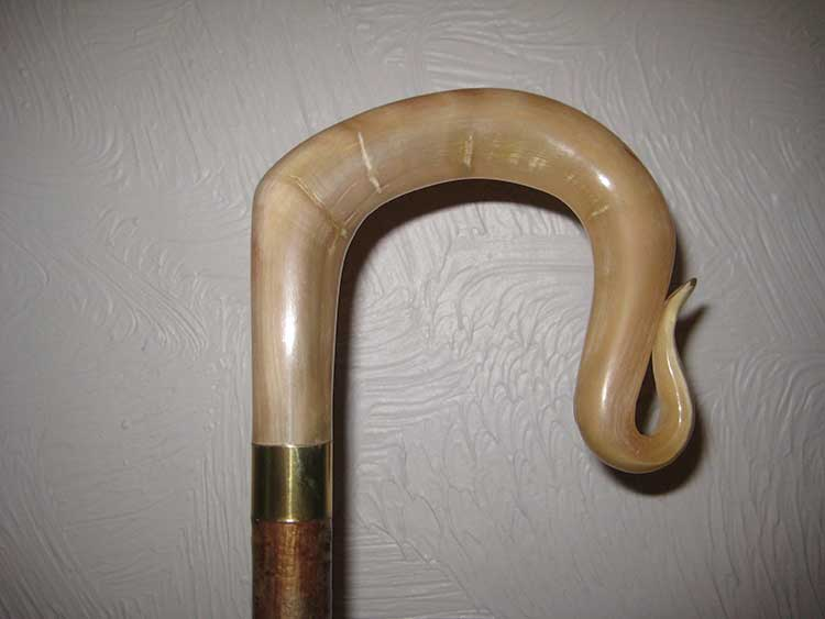 Rams horn shepherds crook